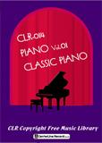 超定番 著作権フリークラシックピアノ集 CLR014