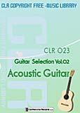 ライセンスフリー音楽 CLR023 アコースティックギター